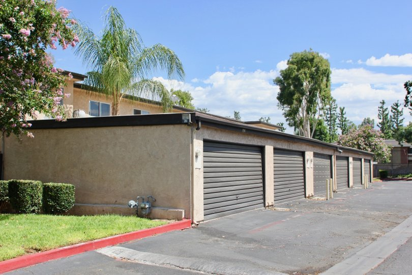A look at community storage facility available at White Oak apartments, Riverside california