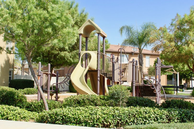 Auberry Place temecula California this home is attach in play groud child is very happyand green grasses