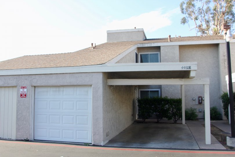 Two garages in a house in Rancho Meadows community
