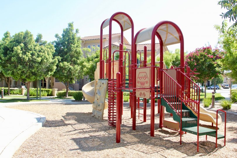 Children's playground on a beautiful day in Temecula, California