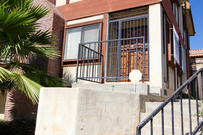 The door into Villa Maison