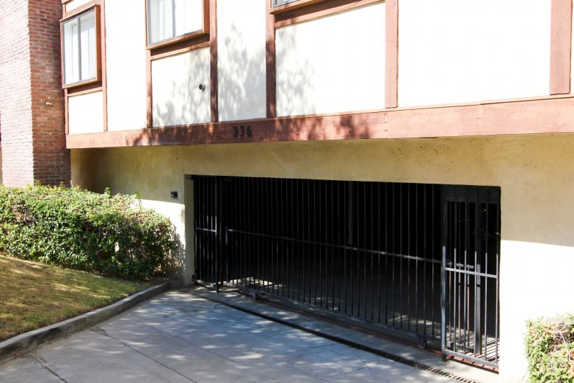 The garage for residents of Villa Maison