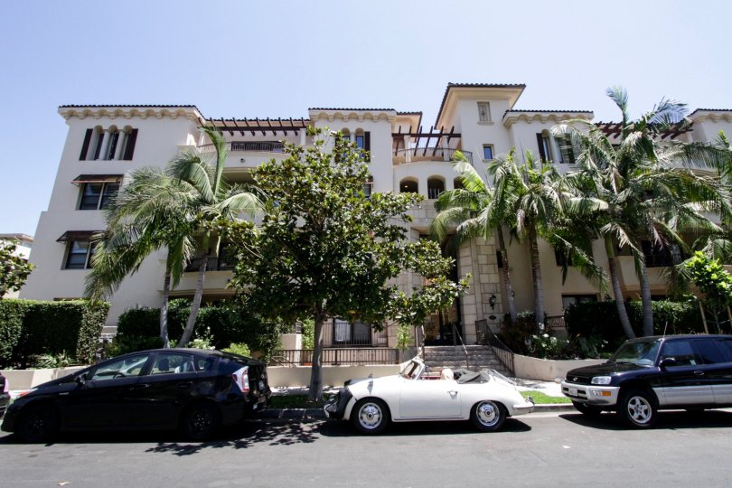 The curb at the Clark Regency in Beverly Center