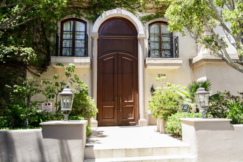 The doors to La Faubourg On Swall