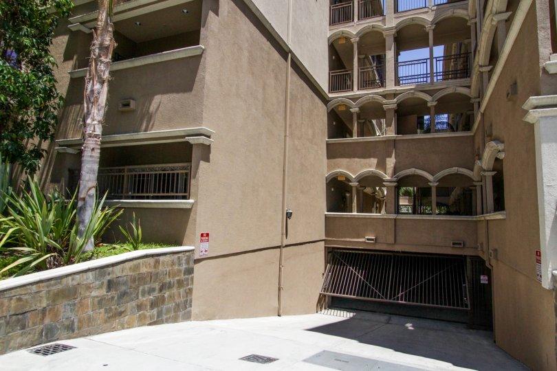 The parking at the Palazzo Willaman
