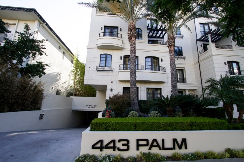The building at 443 N Palm Dr