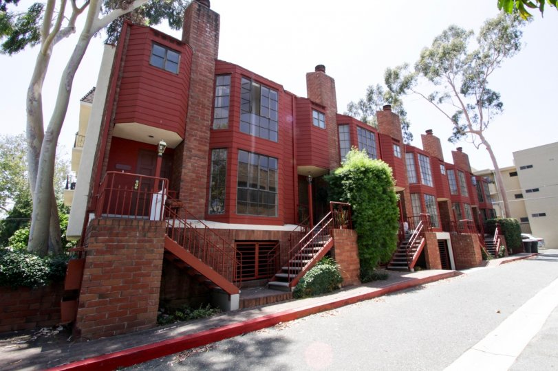 The Bedford Townhomes complex in Beverly Hills