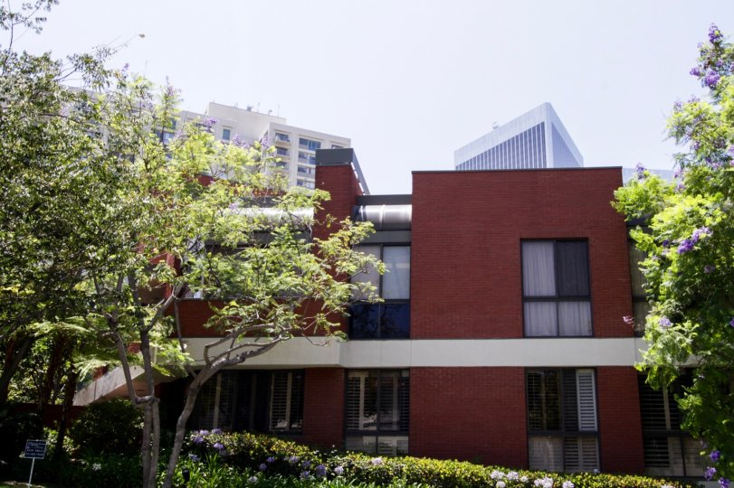 The Enville building in Beverly Hills