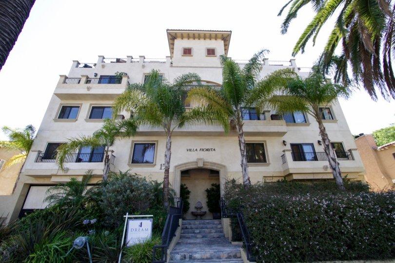The Villa Fiorita building in Beverly Hills