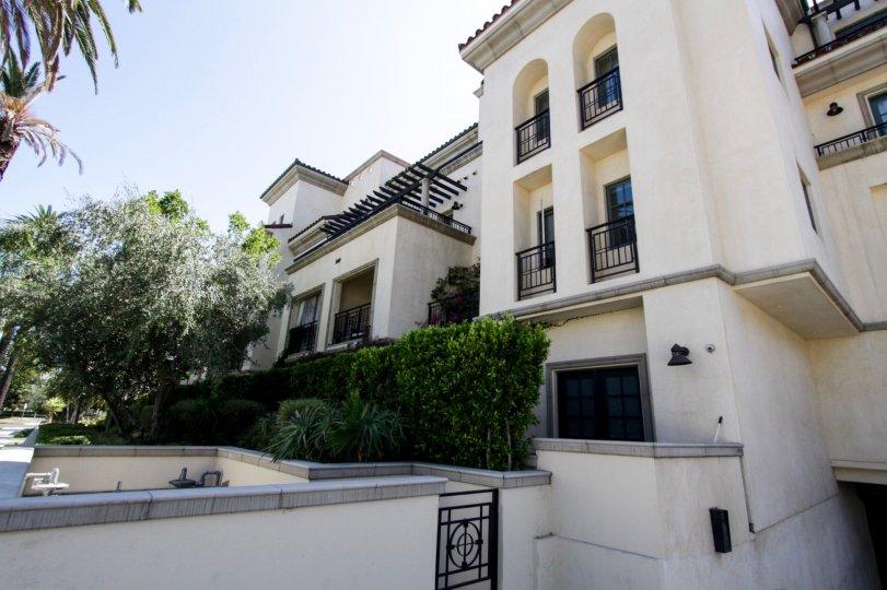 The Villa Hamilton Park building in Beverly Hills