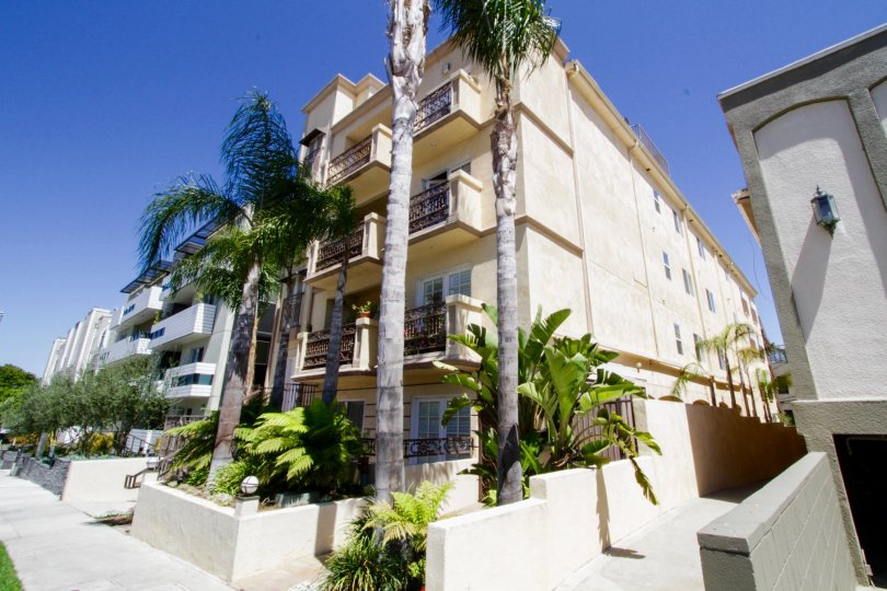 Brentwood View is a beautiful Mediterranean Condo Building