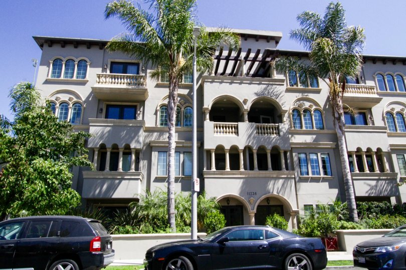 Casa Bella Villas is a four story condo building
