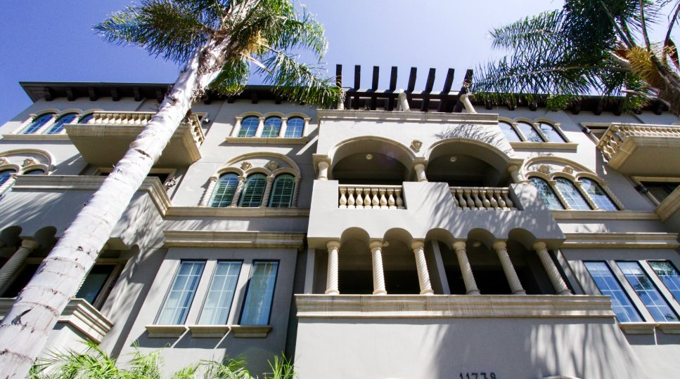 Casa Bella Villas is a Mediterranean condo building