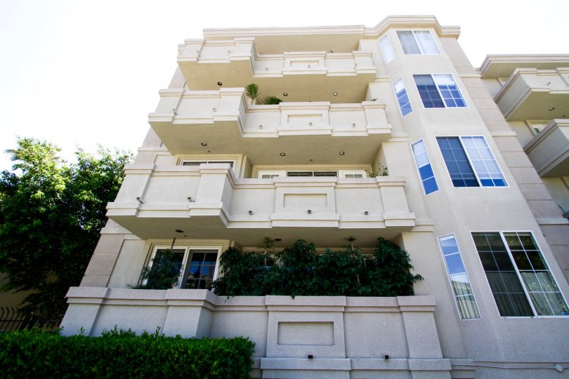 The Excelsior is a midrise condo building in Brentwood