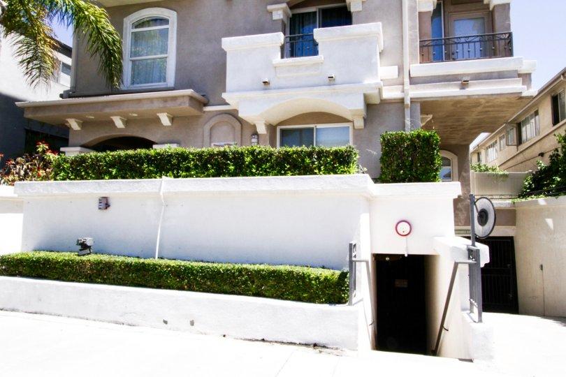 The Portofino offers subterranean gated parking