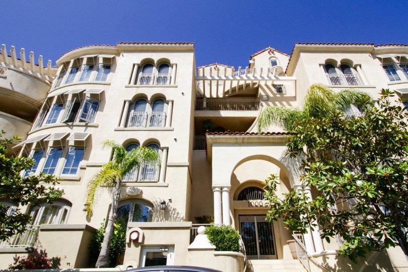 Vizcaya is a Mediterranean style condo building