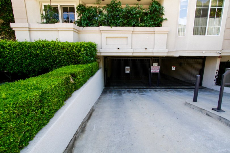 The Excelsior offers private subterranean parking