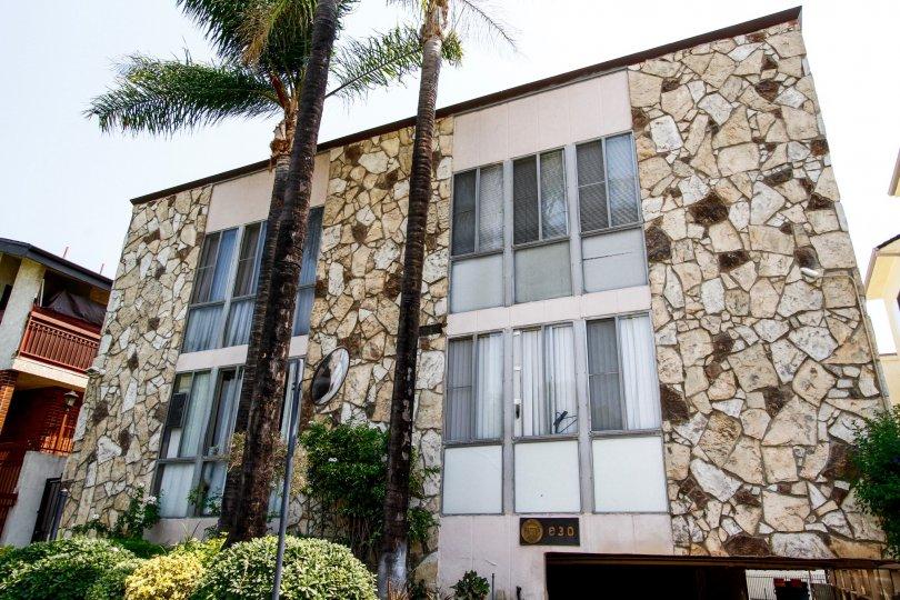 The windows at 630 E Orange Grove Ave in Burbank California