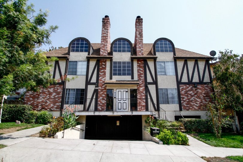 The Francesca Villas building in Burbank California