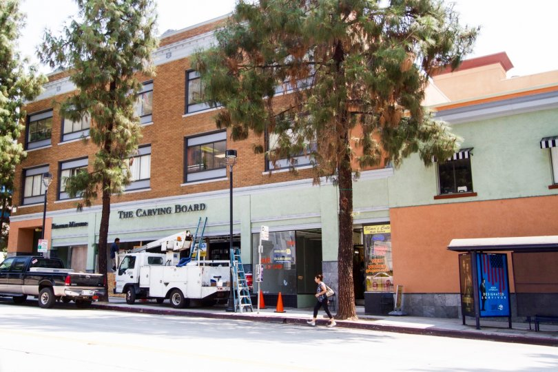 The Burbank Collection building in Burbank California