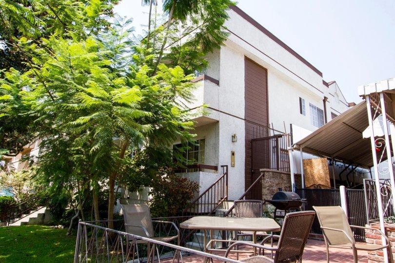 The common area in Valencia Palms