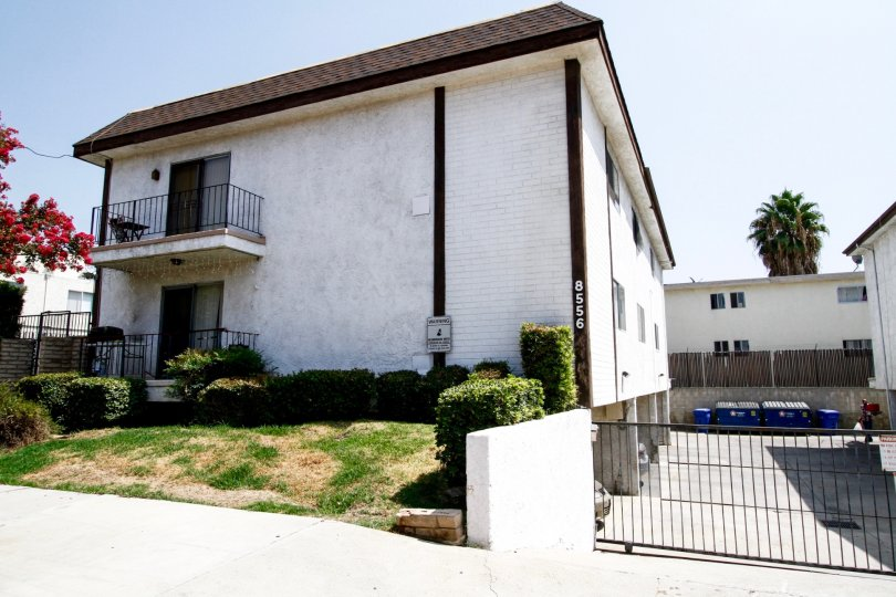 The Independence Gardens building in Canoga Park, California