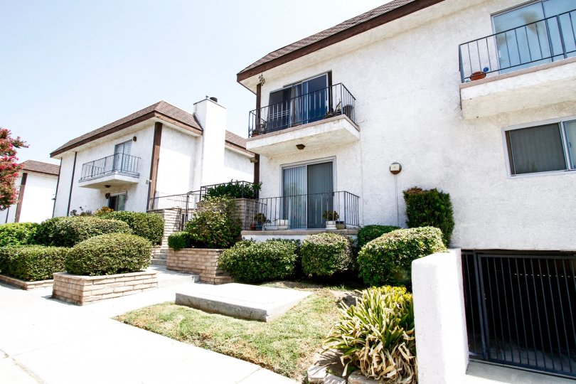 Independence Gardens in Canoga Park features impeccably maintained landscaping