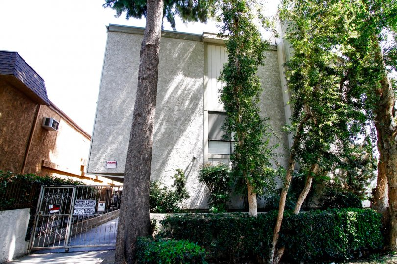 The Jordan Condos building in Canoga Park California