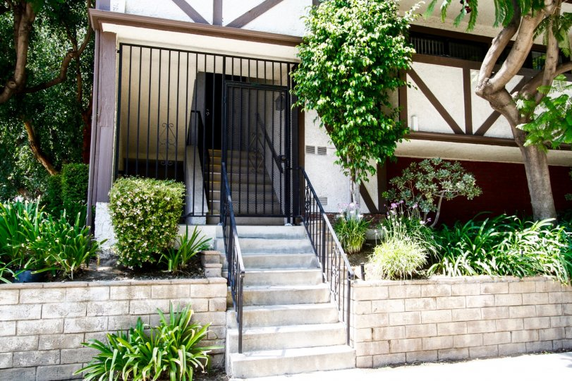 The entrance into Jordan Estates in Canoga Park California