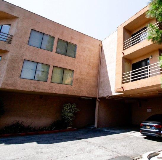 The Remmet building in Canoga Park California