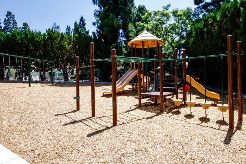The playground at the Beverlywood West in Culver City