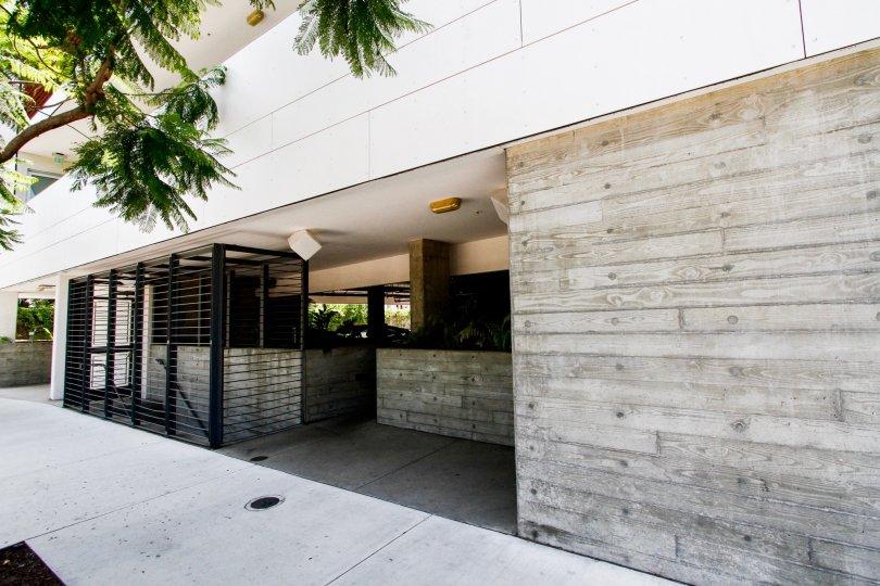 The entryway into Culver Centrale in Culver City