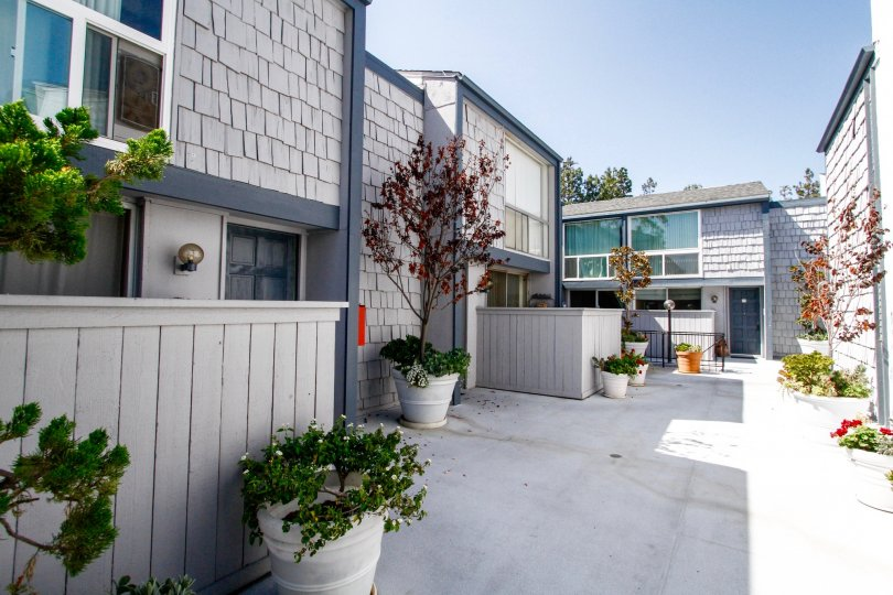 The Doverwood Townhomes building in Culver City
