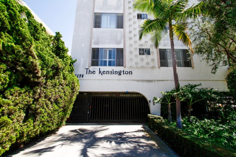 The parking at The Kensington in Culver City