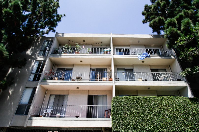 The balconies at Windsor Estates