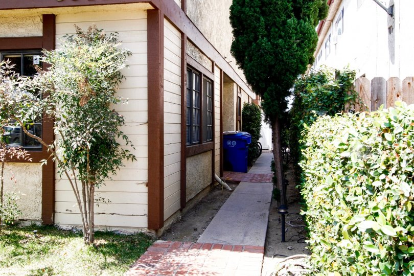 The alley beside Tilden West in Culver City