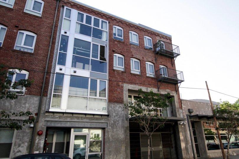 The balconies at Barker Block Warehouse 1