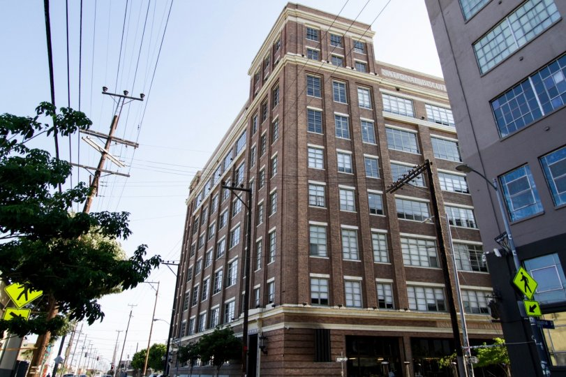 The Biscuit Company Lofts building in Downtown LA
