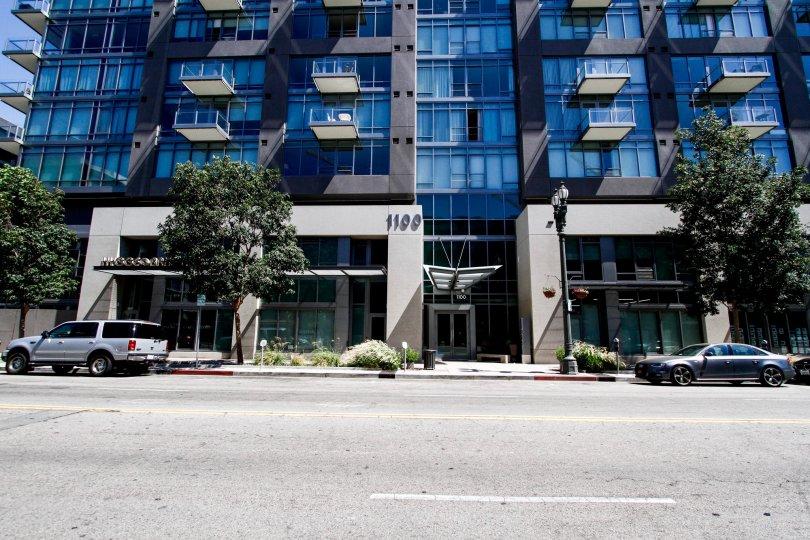 The address on the Luma South building