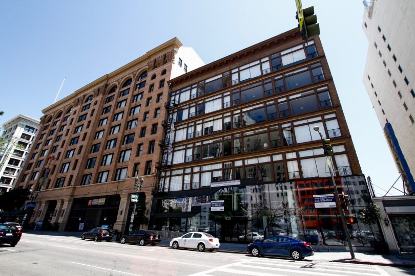 The Mercantile Lofts building in Downtown LA