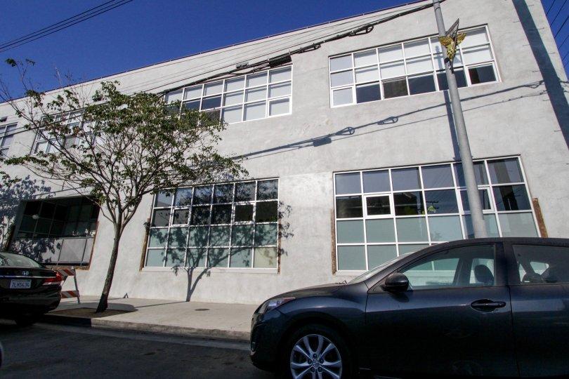 The windows seen at Molino Street Lofts