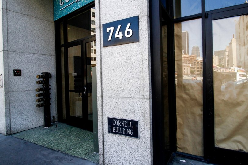 The address for Santee Village in Downtown LA