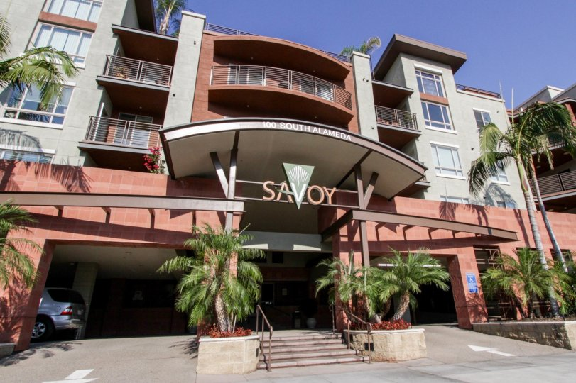 The entryway into Savoy