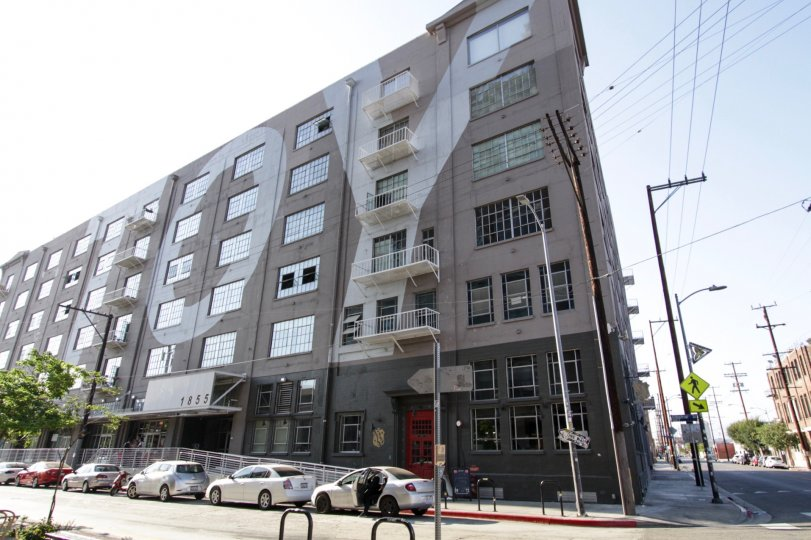 The Toy Factory Lofts building in Downtown LA