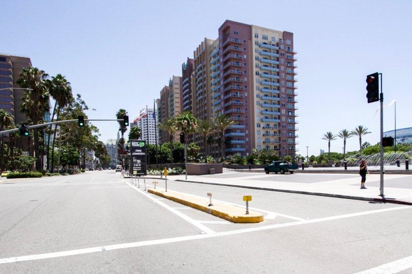 Condo building Aqua located in Long Beach