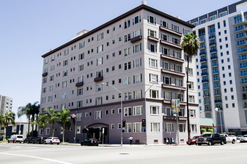 Artaban is a midrise building in Downtown Long Beach