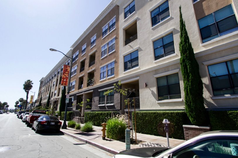 City Place Lofts is a urban condo building in Long Beach