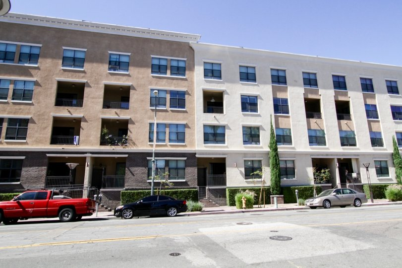 City Place Lofts is midrise condo building in Long Beach