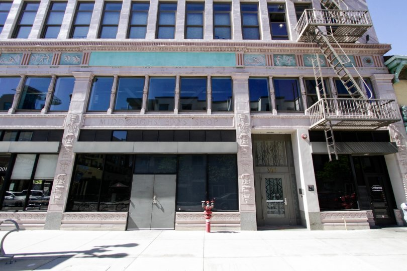 Insurance Exchange Lofts is an art deco inspired building