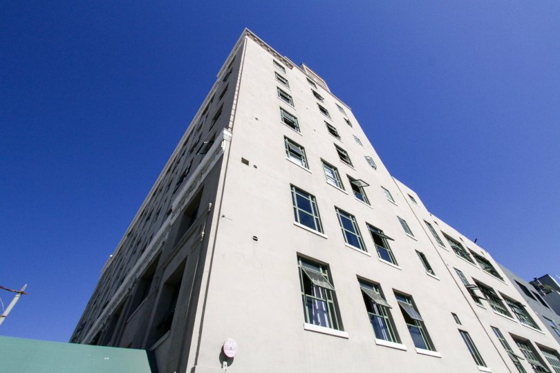 Residents have the windows of their Kress Lofts condos open allowing in fresh air